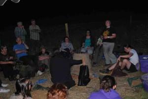 Evening story-telling