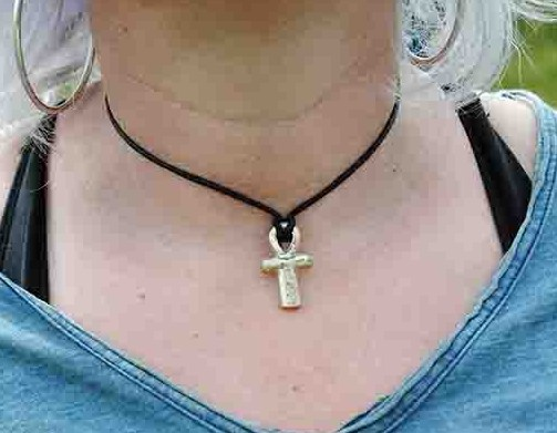 Kate's copper-alloy ankh