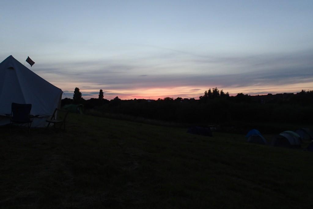 Yet another beautiful Boneyard sunset