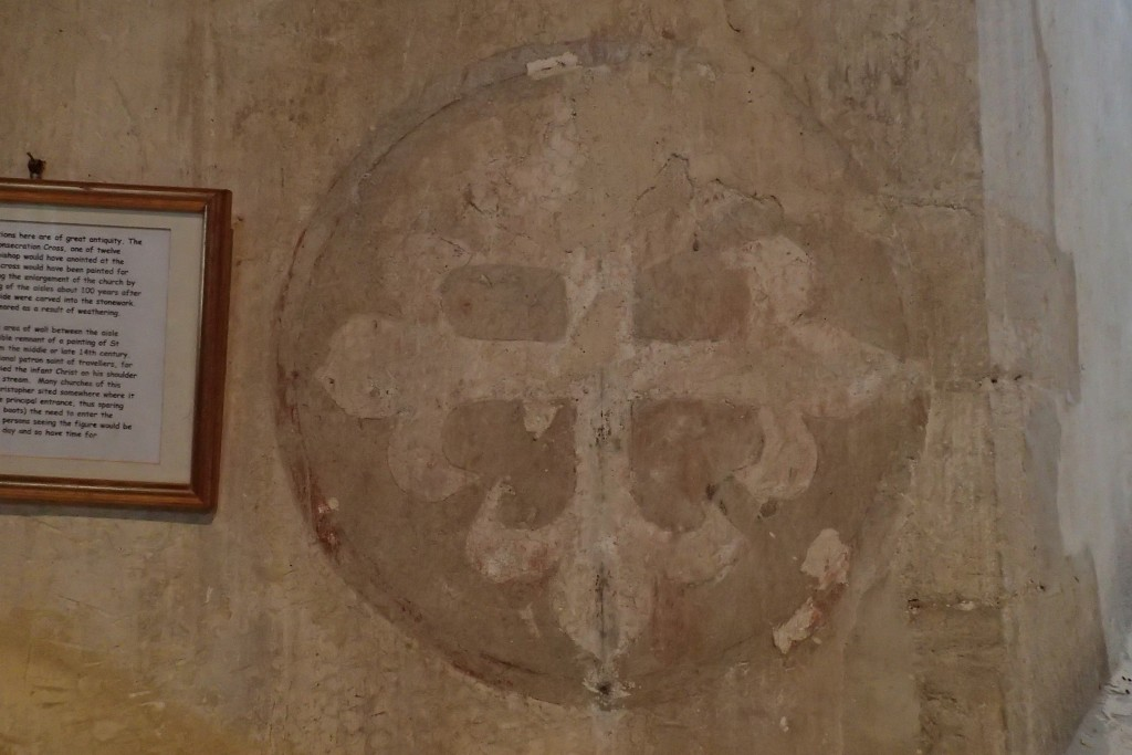Consecration cross
