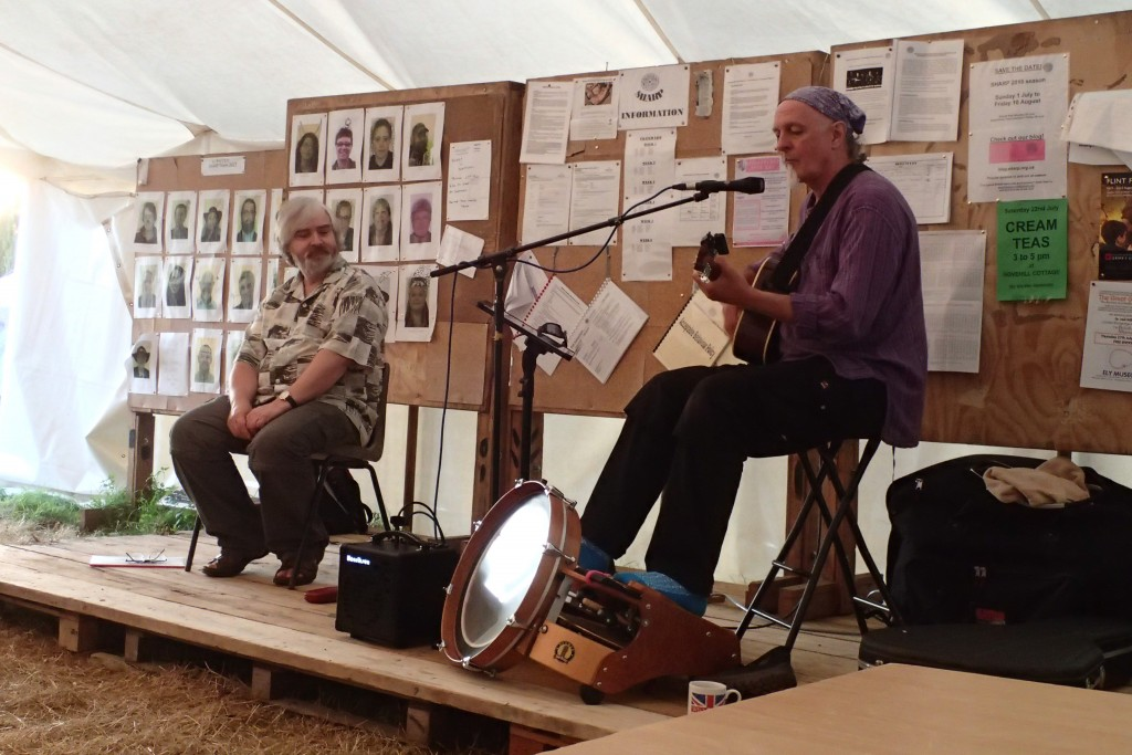 William Alderson and Marshlander bring poetry and music to the Marquee