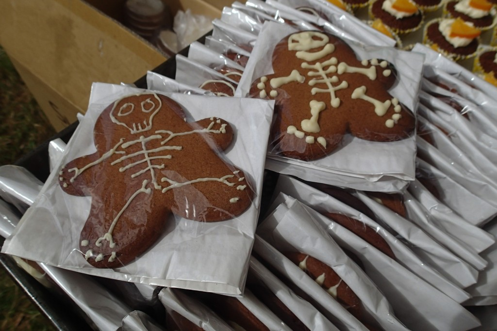Skelly gingerbread